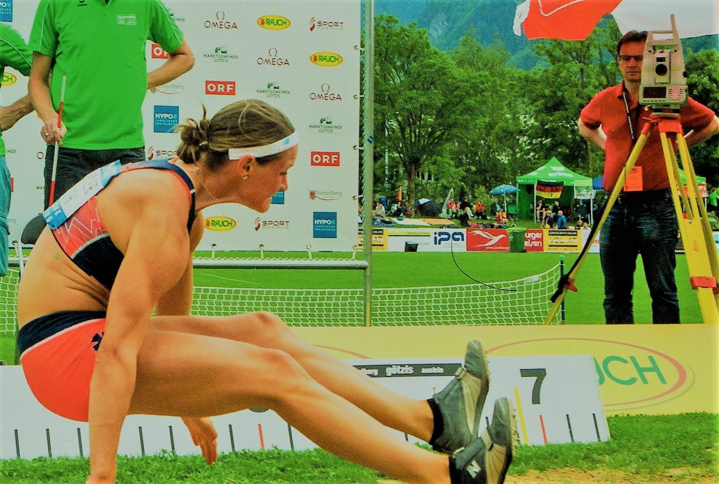 Topografía aplicada al Atletísmo. Salto Longitud y Lanzamientos.